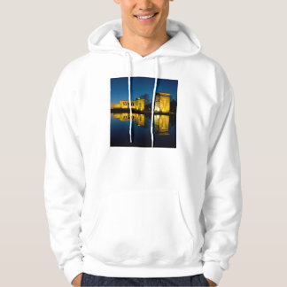 The Temple of Debod in Madrid Spain Hoodie