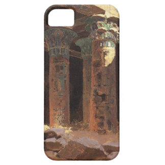 The Temple of Isis on Philae island Vasily Polenov iPhone SE/5/5s Case