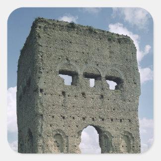 The Temple of Janus, Tene I Square Sticker