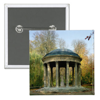 The Temple of Love in the Parc du Petit 2 Inch Square Button
