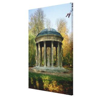 The Temple of Love in the Parc du Petit Canvas Print