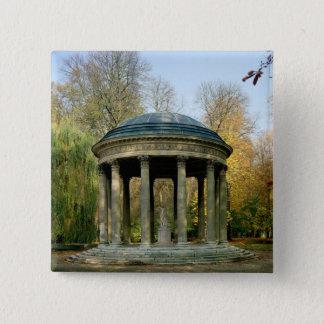The Temple of Love in the Parc du Petit Pinback Button