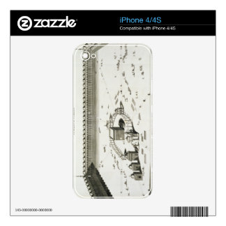 The Temple of Mecca (engraving) Skins For The iPhone 4S