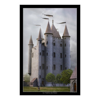 The Temple of Paris Poster