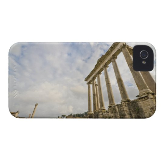 The temple of Saturn is the oldest in the Roman Case-Mate iPhone 4 Case