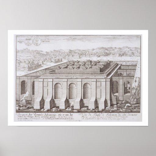 The Temple of Solomon, Jerusalem, from 'Entwurf ei Print