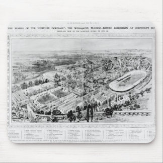 The Temple of the 'Entente Cordiale' Mouse Pad
