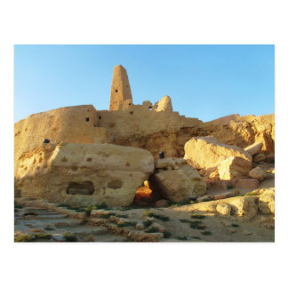 The Temple of the Oracle at the Siwa Oasis Postcard