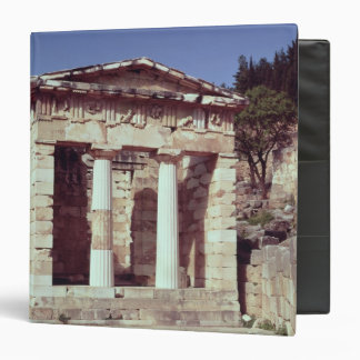 The Temple of the Treasures of the Athenians 3 Ring Binder