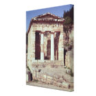 The Temple of the Treasures of the Athenians Canvas Print