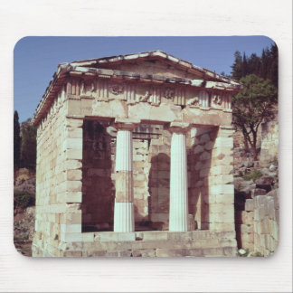 The Temple of the Treasures of the Athenians Mouse Pad