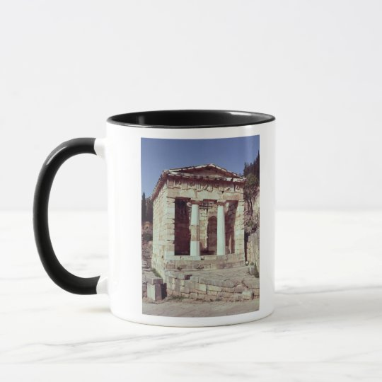 The Temple of the Treasures of the Athenians Mug