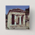 The Temple of the Treasures of the Athenians Pinback Button