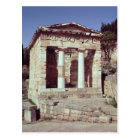 The Temple of the Treasures of the Athenians Postcard