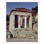 The Temple of the Treasures of the Athenians Poster