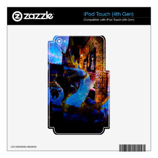 The Temple of Time iPod Touch 4G Decal