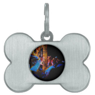 The Temple of Time Pet ID Tag