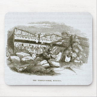 The Temple-Tombs at Norchia Mouse Pad