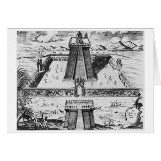 The Templo Mayor at Tenochtitlan Greeting Card