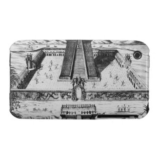 The Templo Mayor at Tenochtitlan Case-Mate iPhone 3 Case