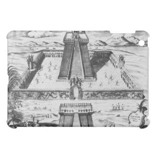 The Templo Mayor at Tenochtitlan Cover For The iPad Mini