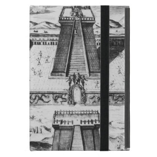 The Templo Mayor at Tenochtitlan iPad Mini Cases