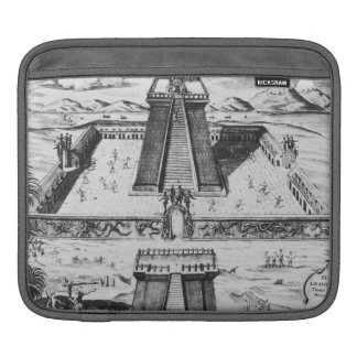 The Templo Mayor at Tenochtitlan iPad Sleeve