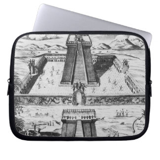 The Templo Mayor at Tenochtitlan Laptop Computer Sleeves