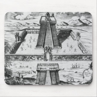 The Templo Mayor at Tenochtitlan Mouse Pad