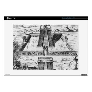 "The Templo Mayor at Tenochtitlan 15"" Laptop Skins"