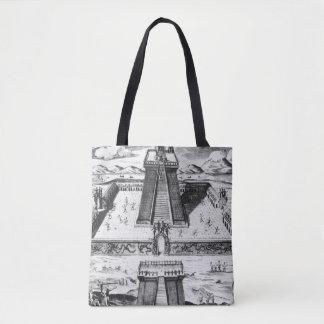 The Templo Mayor at Tenochtitlan Tote Bag