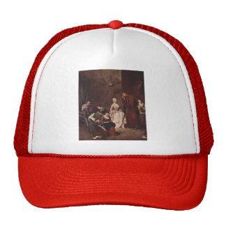 The Temptation by Pietro Longhi Hat