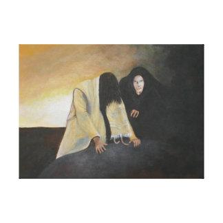 The Temptation Gallery Wrap Canvas