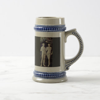 The Temptation Of Adam And Eve By Masolino (Best Q Coffee Mugs