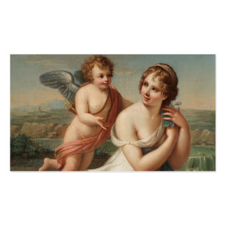 The Temptation of Eros Double-Sided Standard Business Cards (Pack Of 100)