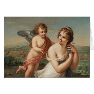 The Temptation of Eros Greeting Card