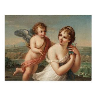 The Temptation of Eros Postcard