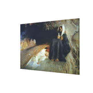 The Temptation of St. Anthony, 1878 Gallery Wrap Canvas