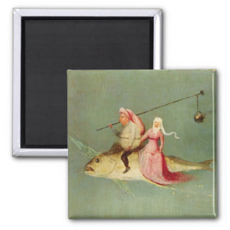 The Temptation of St. Anthony 2 2 Inch Square Magnet