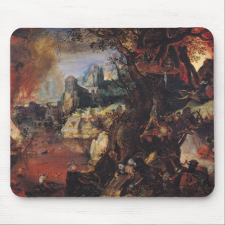 The Temptation of St. Anthony 3 Mouse Pad