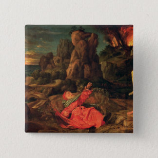 The Temptation of St. Anthony, c.1530 Pinback Button