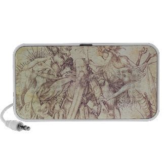 The Temptation of St. Anthony (engraving) iPhone Speaker