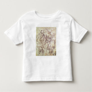 The Temptation of St. Anthony (engraving) Toddler T-shirt