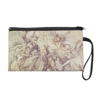 The Temptation of St. Anthony (engraving) Wristlet