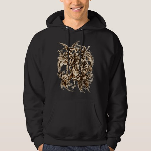 The Temptation of St Anthony Hooded Sweatshirt