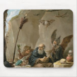 The Temptation of St. Anthony Mouse Pad