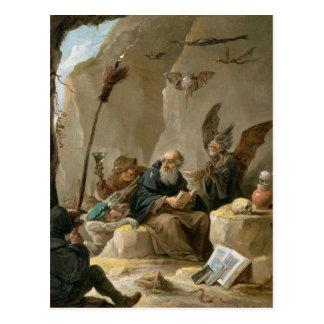 The Temptation of St. Anthony Postcard