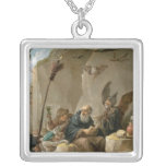 The Temptation of St. Anthony Silver Plated Necklace