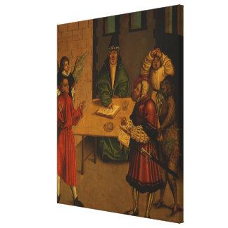 The Ten Commandments, 1516 Canvas Print