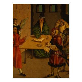 The Ten Commandments, 1516 Postcard